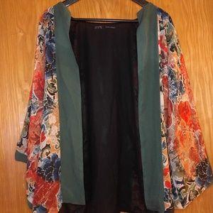 Japanese Print Kimono